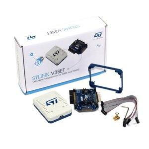 1 шт. x STLINK-V3SET процессор STM8S STM32 программатор 5 в USB 2,0 JTAG DFU аутентичный не клонировать ST LINK V3