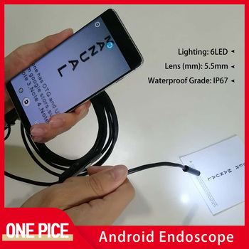 5.5MM 1m/2m/3.5M Android Endoscope IP67 Waterproof Mini Camera Triplet a TYPE-C USB for Smartphone with OTG and UVC PC - discount item  30% OFF Video Surveillance