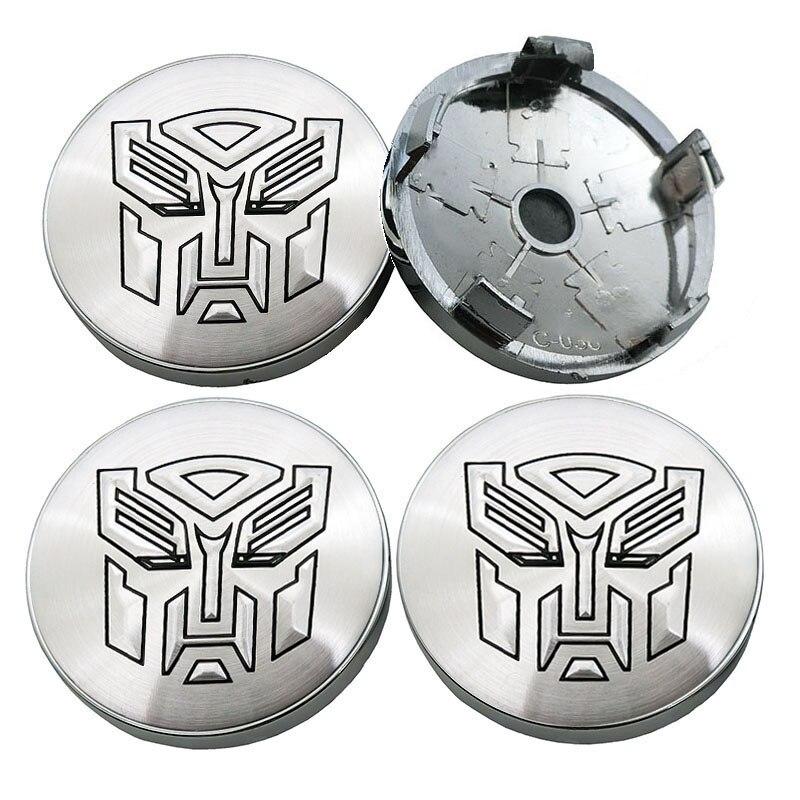 56mm Transformers autobot Wheel Center Hub Cap Emblem Badge Decal Symbol Sticker