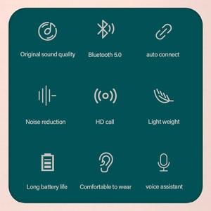 Image 5 - Lenovo – écouteurs sans fil Bluetooth à commande tactile, oreillettes de jeu, de Sport, de réduction du bruit, LED, étanches, XT91
