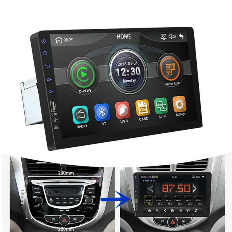 9Inch 1Din Mobil MP5 Pemain Tekan Layar FM Radio Bluetooth USB AUX Cermin Link MP5 Automotivo 1din Zesfor 1din 9Inch