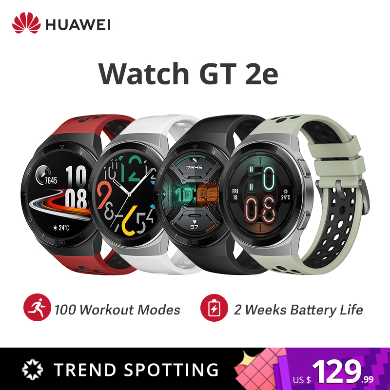 Original HUAWEI WATCH GT 2e 100 Sport Modes Gt2e 5ATM Smart Watch 1.39