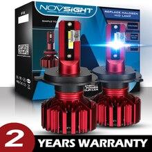 цена на NOVSIGHT H7 Car Led Light H4 Headlight Bulbs H1 Led H7 H3 H11 H8 H9 Hb4 Hb3 9005 9006 Car Fog Lamp 12V Automobiles Headlamp Bulb