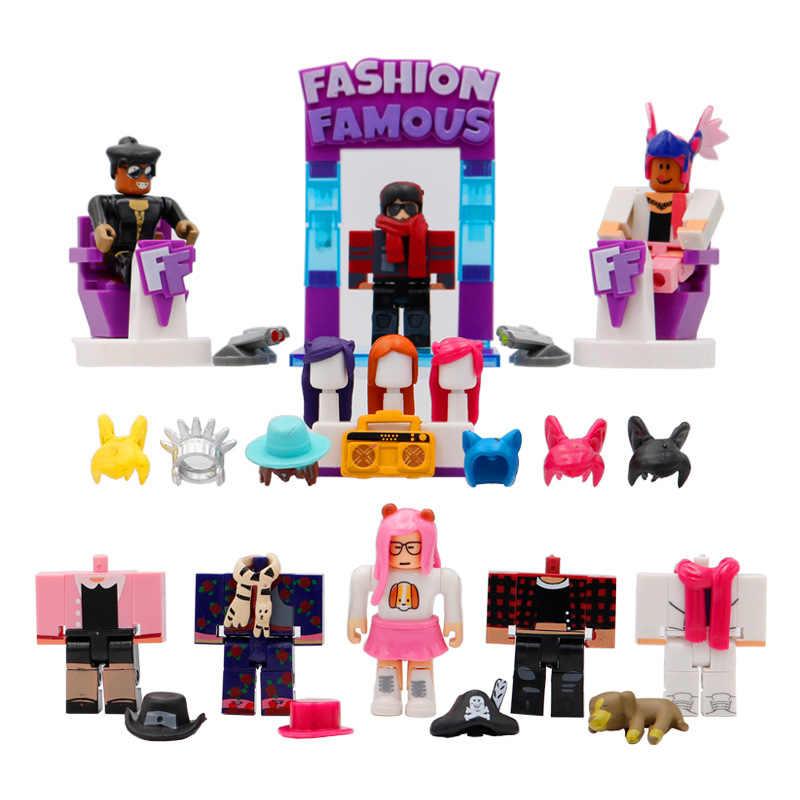 Roblox Celebrity Fashion Beroemde Playset 7 Cm Pvc Suite Poppen Jongens Speelgoed Model Beeldjes Voor Collection Kerstcadeaus Voor Kinderen