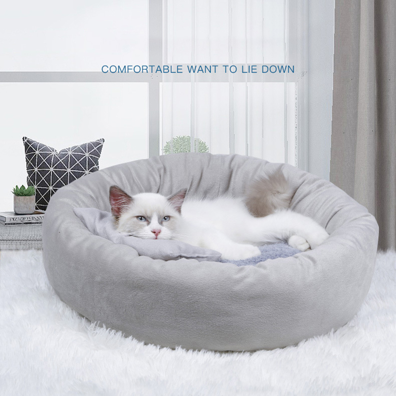 Pet Dog Bed Basket Dogs Beds for Large Bench Mat Kennel Pet Supplies Sofa Dog House for Cat Big Cushion Dog Accessories