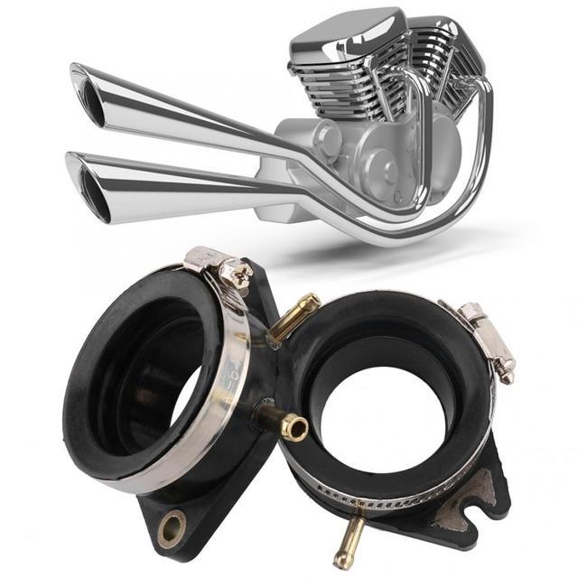 2PCS Carburetor Intake Manifold Adapter Joint Boot for Yamaha Virago 750 XV750 Car Automobile Intake Manifold intake manifold