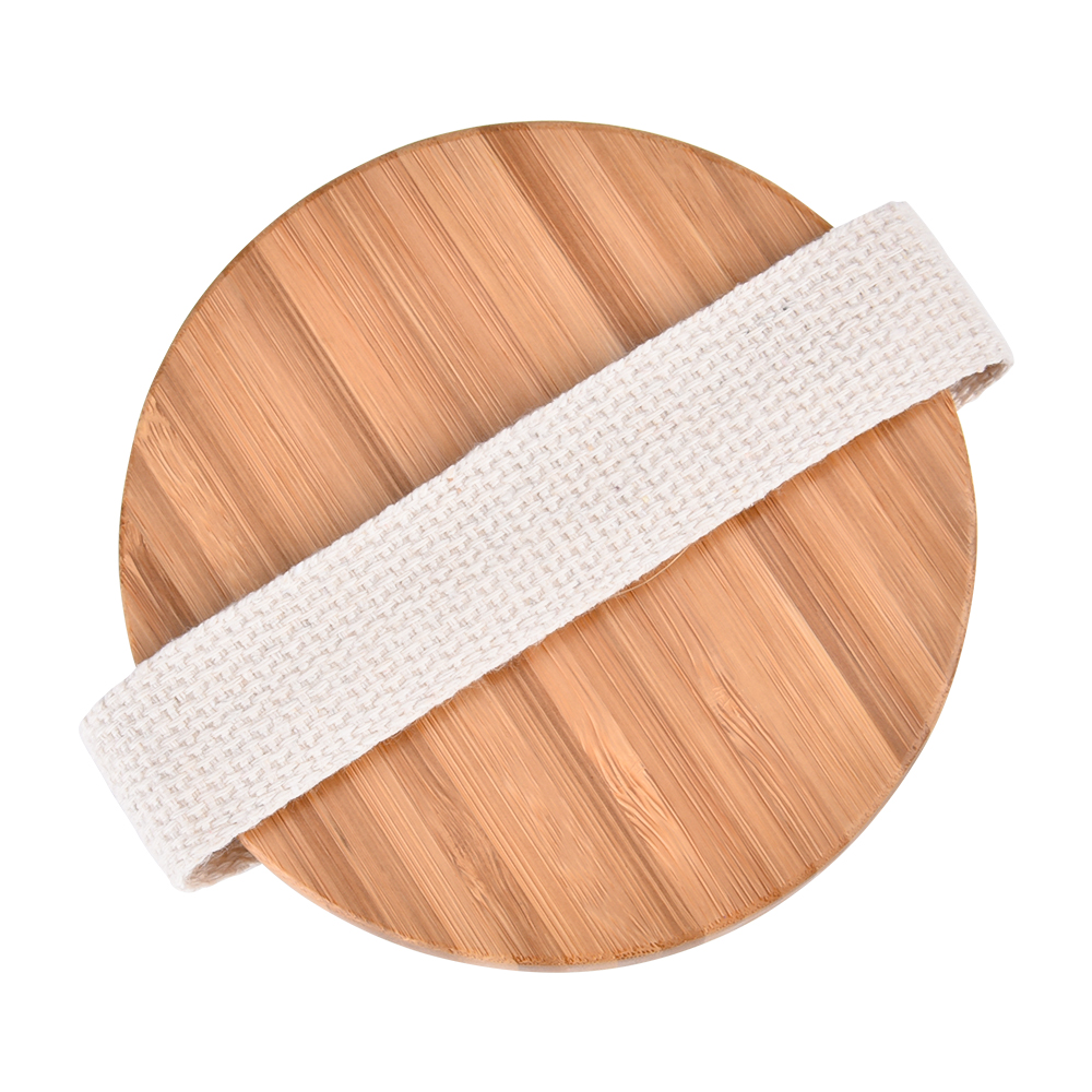 Круглый бамбук ванна душ щетки ванная чистка тело щетка спа массаж скраб щетки ванна принадлежности для тела отшелушивание