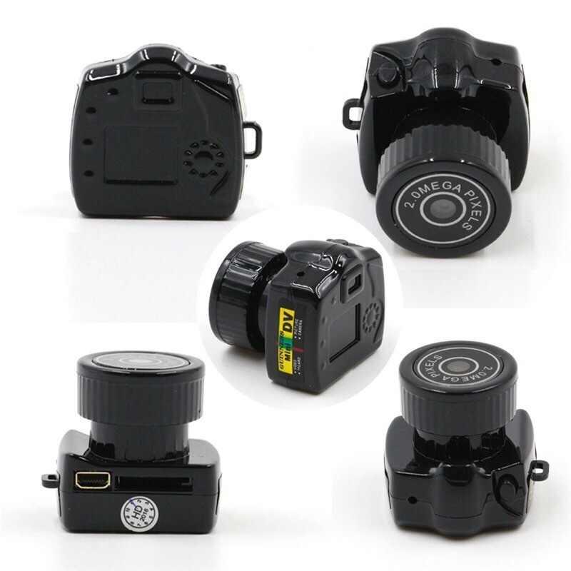 2019 nouveau Y2000 Mini caméra caméscope HD 1080P Micro DV DVR caméscope Portable Webcam vidéo enregistreur vocal caméra caméra secrète