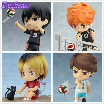 Japanes Anime Haikyuu!! Shoyo Hinata Hinata Shoyo kageyama tobio Oikawa Tooru Q version figma PVC Action Figure Toys Collection 1
