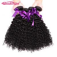 4 paquetes oferta Jerry Curl 28 30 pulgadas paquetes de extensiones de cabello humano paquetes de armadura de pelo brasileño Remy cabello sin enredo no derramamiento