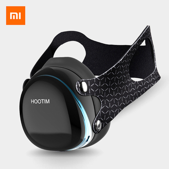 Xiaomi Hootim Electric Anti-Haze Sterilizing Anion Mask Provides Active Air Supply Electric Face Mask From Xiaomi Youpin mask