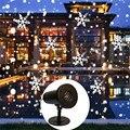 Thrisdar пульт дистанционного управления движущийся рождественский снежинка лазерный проектор открытый прожектор с эффектом снегопада лампа ...