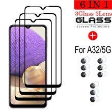 Gehärtetem Glas Für Samsung A32 5G Screen Protector Glas Für Samsung Galaxy A32 5G Kamera Film Für Samsung a32 Schutz Glas