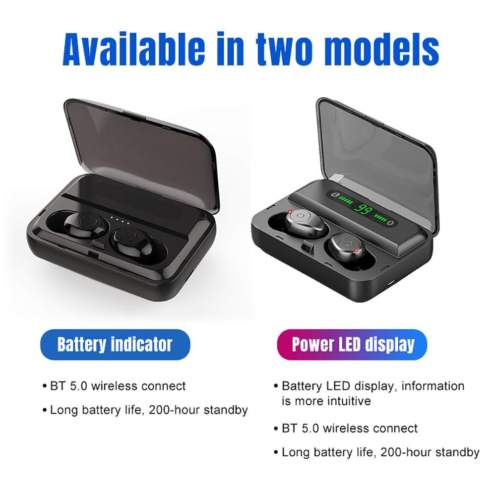 VTIN XT988 TWS Earphone Wireless Bluetooth 5.0 Earphones Stereo Earbuds Life Waterproof Earphones 5H Playtime For iPhone Huawei (12)