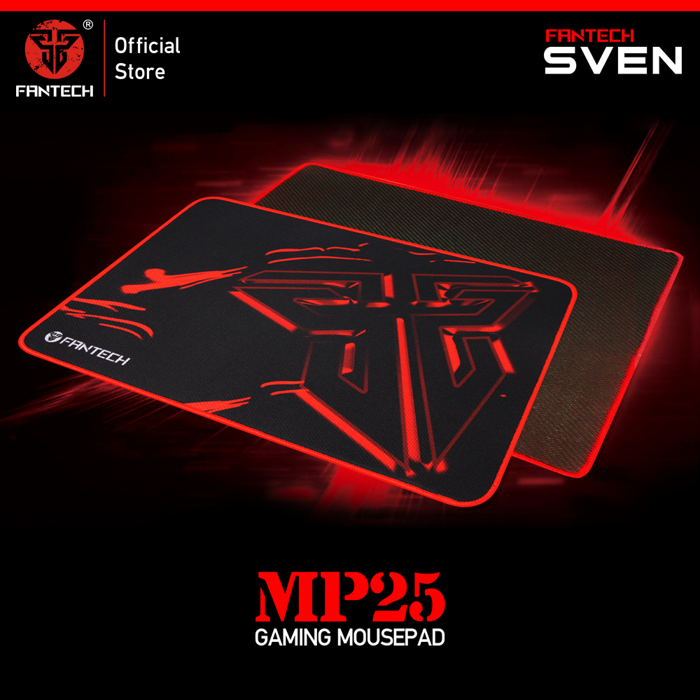 FANTECH MP25 Gaming Mouse Pad 25x21x0.02cm Anti slip Natural Rubber Mousepad Gamer Ultra smooth Cloth Surface  For FPS LOL Game-in Mouse Pads from Computer & Office