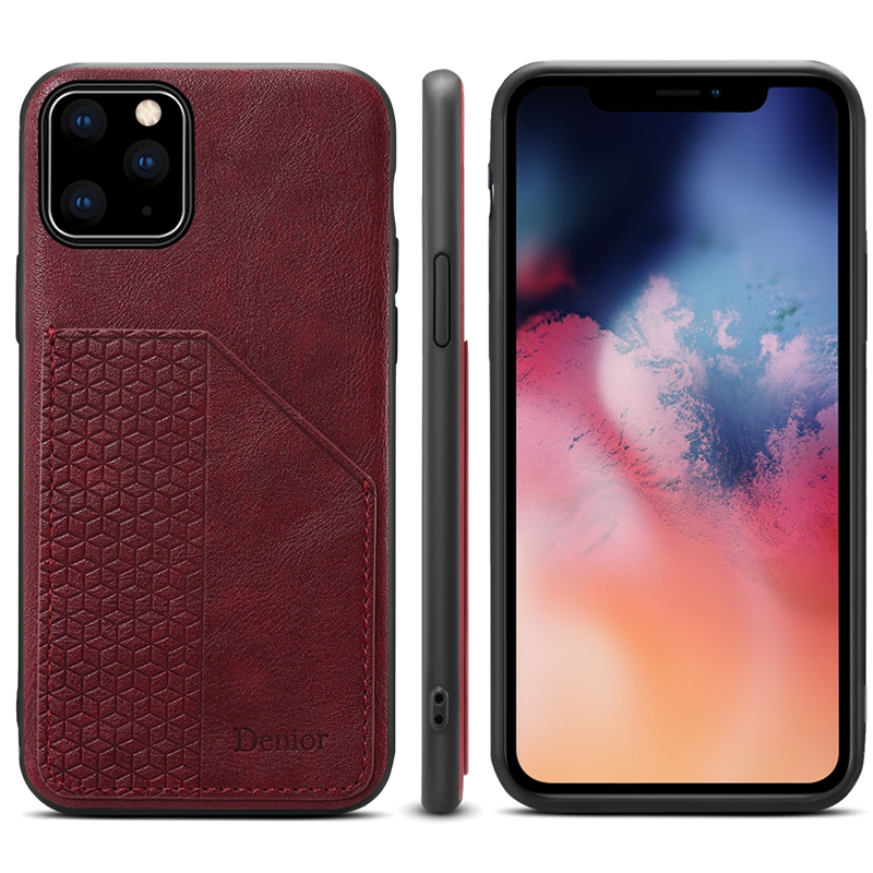 Luxury Leather Card Holder Case for iPhone 11/11 Pro/11 Pro Max 8