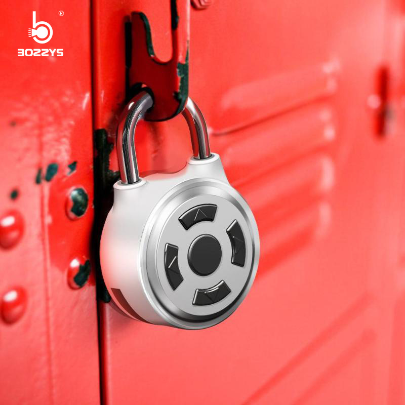 Smart Bluetooth Padlock With Password Required Mobile Phone APP Backpack Luggage Dormitory Door Gym Cabinet Small Padlock