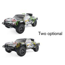 цена на 1:18 Scale 9301E Off-Road Crawler Vehicle Truck Model Toy Brushless Motor Car Remote Control Four Wheel Climber Toy