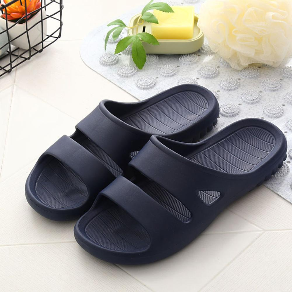Bathroom Slippers Home Shoes Men Shower Pool Slippers Soft Ultra Comfortable Lightweight Men's Shoes Chaussons Homme #20J16