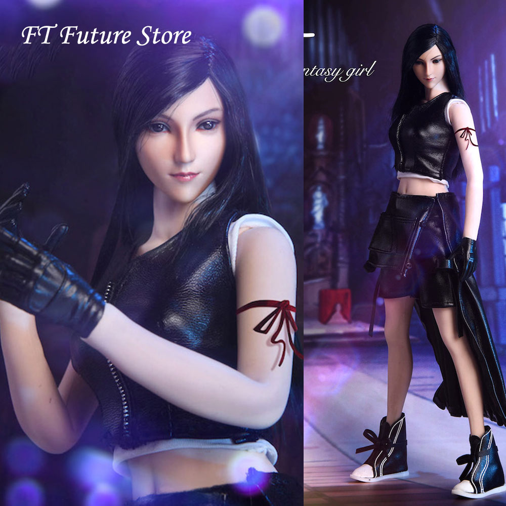 """1//6 Scale Cool Girl Gothic Clothing Outfits Combo for 12/"""" Female Doll Figure"""