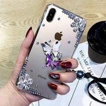 For Xiaomi Mi 11 Pro 11 Lite 11Ultra 10S POCO M3 X3NFC Redmi Note 10 Pro Note 9 Pro Max 9S Redmi 9 9A 9C K40 Bling Diamond Case