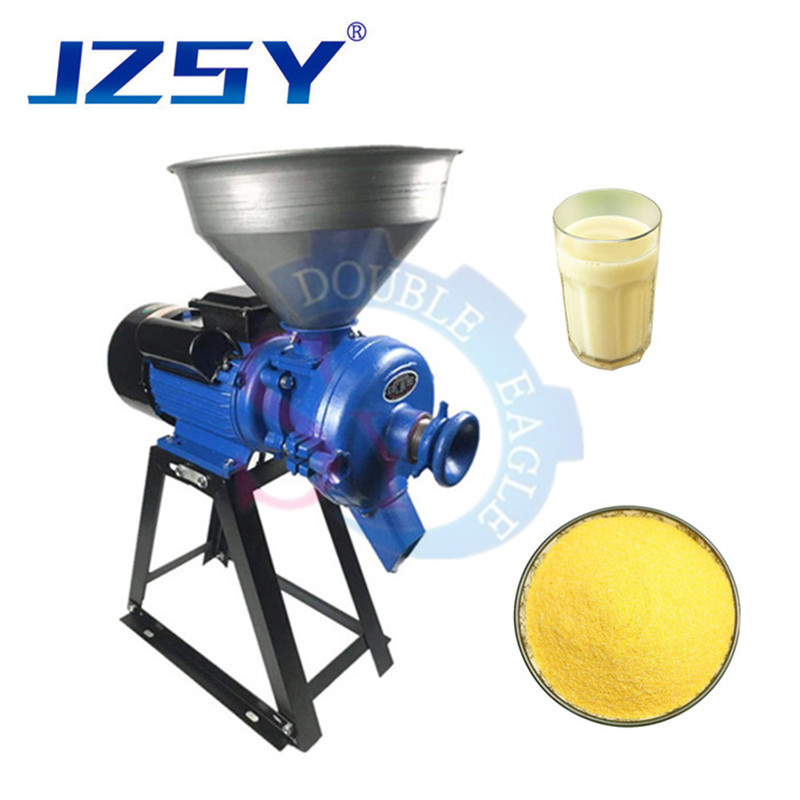 110V Electric Commercial wet Beans Milk Refiner Rice Flour Grinder Feed Mill Electric Mill Grinder Heavy Duty Commercial Electric Feed Mill Dry Grinder 110V Cereals Corn Grain Coffee Wheat Feed Machine