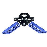 Nouveau support de support d'arc de tir à l'arc réglable longueur réglable support à pince de membre béquille pour accessoire d'arc composé bleu|Arc et flèche| |  -