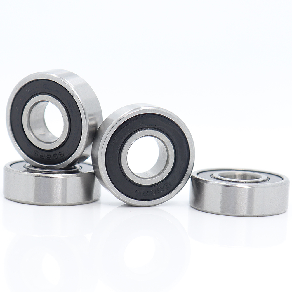 <font><b>608</b></font>/<font><b>9</b></font> Bearing <font><b>ABEC</b></font>-1 ( 4 PCS ) 9x22x7 mm Miniature <font><b>608</b></font>/<font><b>9</b></font> RS <font><b>2RS</b></font> Ball Bearings <font><b>608</b></font>-<font><b>9</b></font> <font><b>2RS</b></font> <font><b>608</b></font>/9RS Bearing image