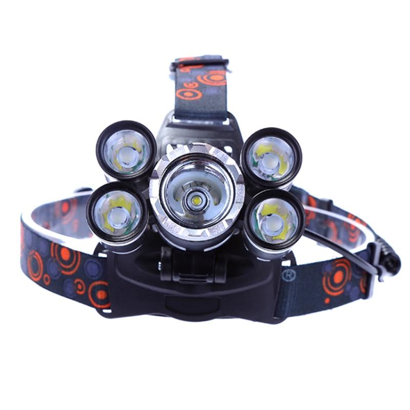 Outdoor Camping Portable Mini LED Headlamp Clip Hat Lamp USB Charging Fishing Headlights Flashlight Led Headlight Headlamp
