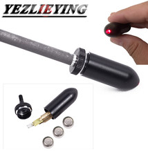 Setas Forma Red Dot Visão Laser Colimador Laser Furo Vista para Arco e Besta de Tiro Com Arco Flecha de Caça Acessórios