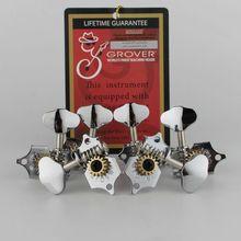 Grover Vintage guitare Machine têtes accordeurs 3 par côté Vertical 97V Chrome accordages chevilles fabriqués en chine