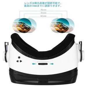 Image 2 - FOXNOVO 1 PC 3D VR 몰입 형 영화 유리 헤드셋 가상 현실 조정 가능한 게임 비디오 헤드폰 안경 고글