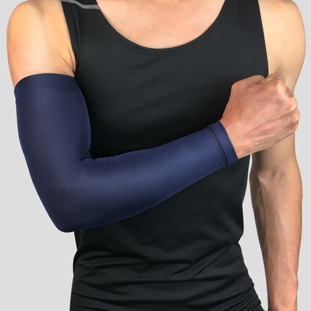 1pcs Breathable Quick Dry Uv Protection Running Arm For Unisex Sports Running Armguards Sleeves Extended Protective Cycling N1N9