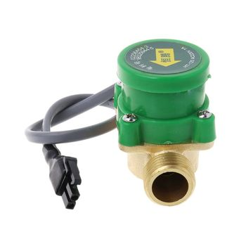 HT-120 Water Pump Flow Switch G1/2 -1/2 Thread Water Circulation Pump Flow Sensor Switch Cold /Hot Water 1.5A U4LB 220v g1 2 g1 2 flow control switch thread water pump adjustable flow sensor pressure automatic control switch