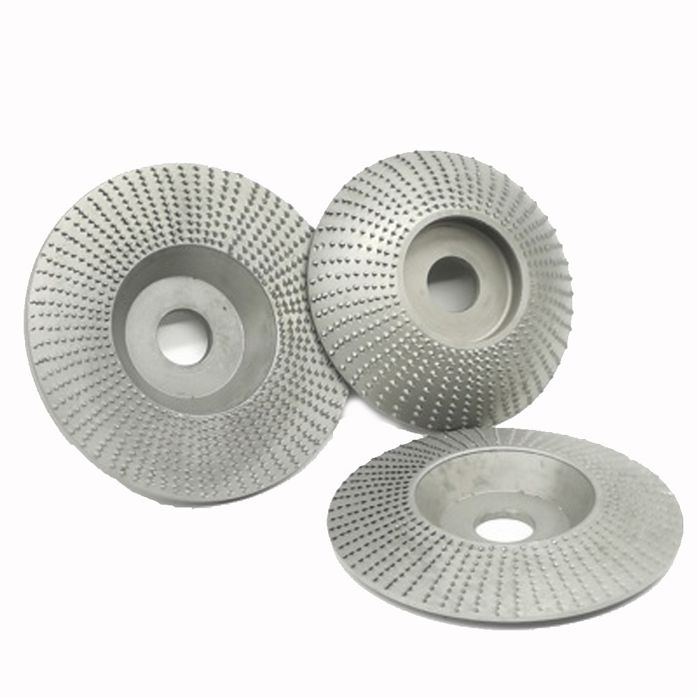 For Angle Grinder Carving Rotary Disc Tools High Quality Wood Grinding Wheel Disc Sanding Wood Tool Abrasive 4inch Bore Wheels
