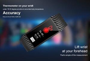 Image 2 - DT58 PRO Smart Watch Fitness Bracelet Heart Rate temperature monitoring Smart Sport Watch Health Monitor ip68 Waterproof