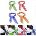 Летний шарф-кулер для шеи, охлаждающий шарф для тела, новый модный многофункциональный нетоксичный шелковый шарф, оптовая продажа