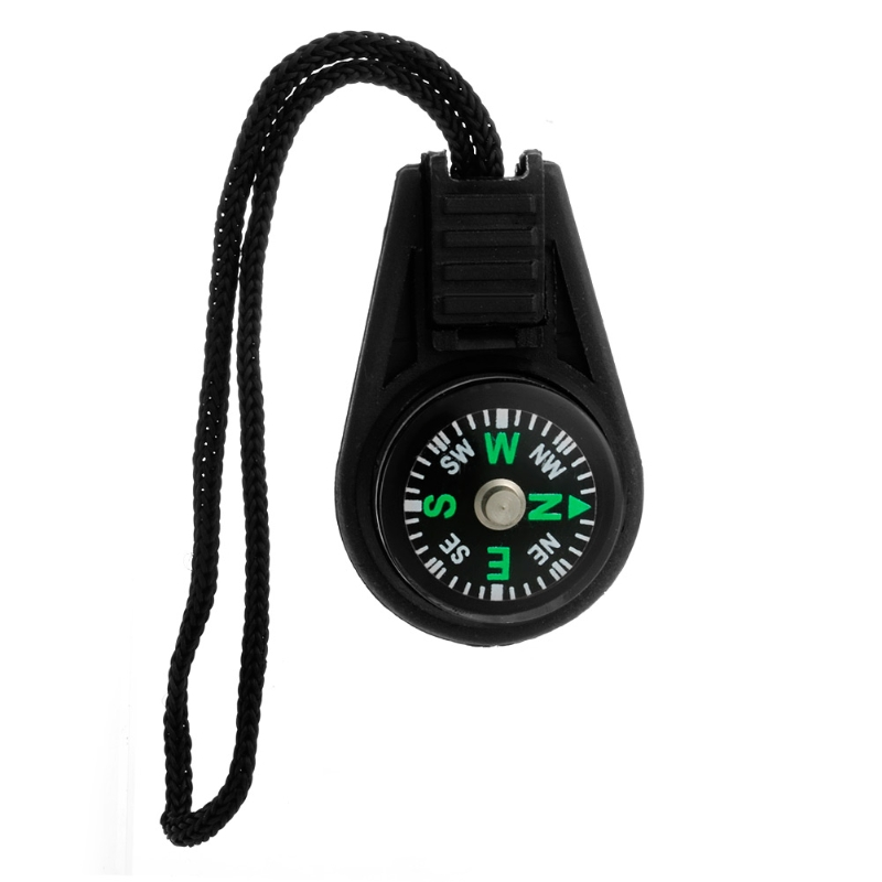 Mini Zipper Pull Compass Backpack Bag Strap Charm Sport