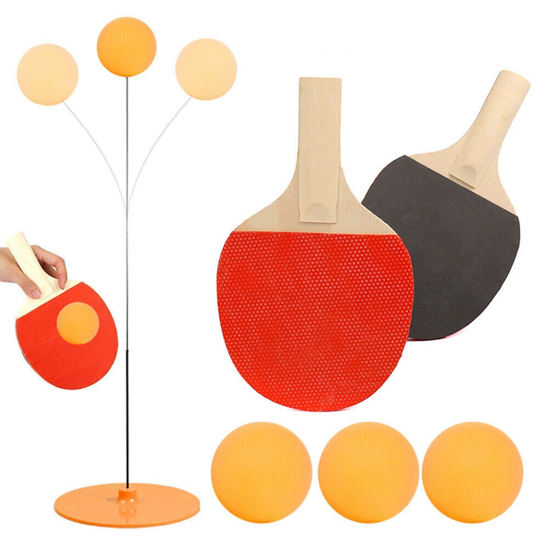 Elastic Soft Shaft Table Tennis Trainer Elastic Rod Training Ball With Leisure Decompression Sports Set Pingpong Sport Toy