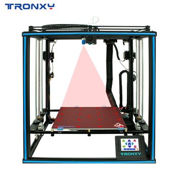 2020 Newest Upgraded TRONXY X5SA-2E 3D Printer Ultra-quiet Driver CoreXY Stable Structure Auto level Dual Titan Extruders Print