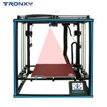 Neueste Verbesserte TRONXY X5SA-2E 3D Drucker Ultra-Ruhigen Fahrer Core XY Stabile Struktur Auto Level Dual Titan Extruder Drucken