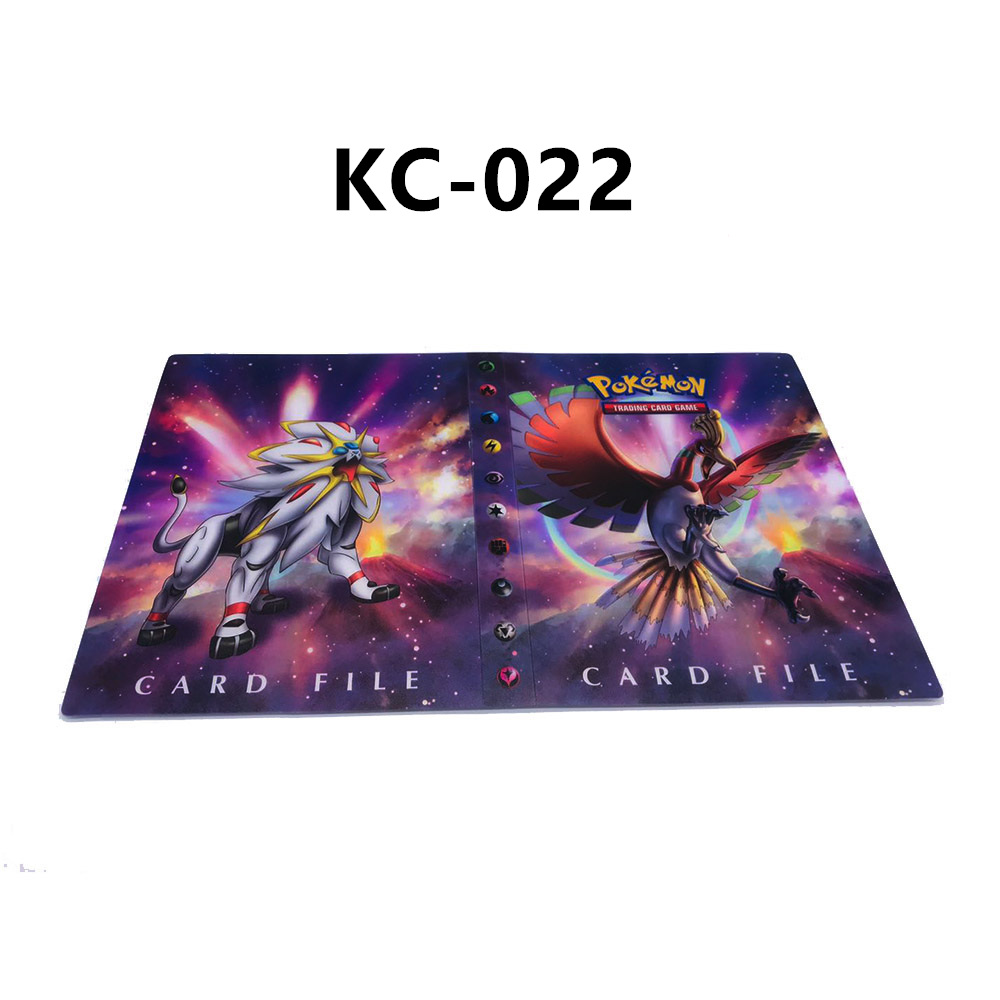 24 стиля Pokemon Cards альбом книга мультфильм аниме Карманный Монстр Пикачу 240 шт держатель альбомная игрушка для детей подарок - Цвет: KC-022