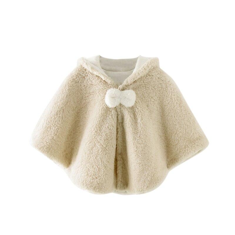 Милая осенняя одежда для новорожденных девочек; пальто с капюшоном и рисунком; плащ; двухслойная куртка; милый зимний комбинезон; верхняя одежда - Цвет: Хаки