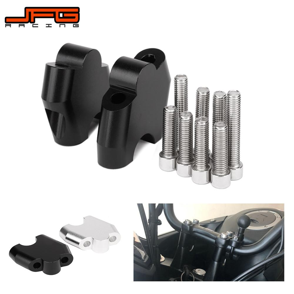 Motorcycle CNC Aluminum Handlebar Riser Extension Mount Lifting Clamp For HONDA NC700S NC700X NC750X CB500X Street Bike