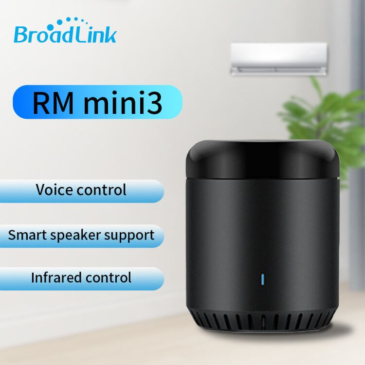 Original Broadlink RM Mini 3 WiFi+IR Smart Home APP Remote Control for Alexa Google Home IFTTT with UK AU US EU Adapter SP3 Plug|Home Automation Modules| |  -