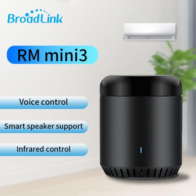 Original Broadlink RM Mini 3 WiFi+IR Smart Home APP Remote Control For Alexa Google Home IFTTT With UK AU US EU Adapter SP3 Plug