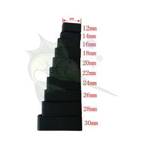 6pcs/lot Black Watch Strap Loo