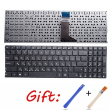 GZEELE Russian Keyboard for ASUS X555 X555L X555LA X555LD X555LN X555LP X555LB X555LF X555L X555U RU Laptop keyboard replacement цена