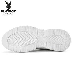 Image 3 - PLAYBOY ผู้ชายรองเท้าลำลองรองเท้ากลางแจ้งผู้ชายรองเท้าสบายรองเท้าผ้าใบแฟชั่นผู้ชายเดินรองเท้า Zapatillas PL615122
