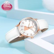 Wristwatch Clock Gift Feminino Luxury Disney's Relogio Casual Snow-White Official Srtap